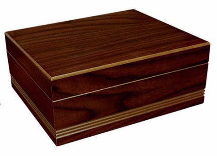 mycigarorder.com Prestige Duke Cigar Humidor - Almond - 50 Cigar Capacity my cigar order closed