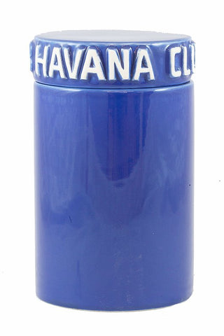 Havana Club Cigar Collection – Tinaja Ceramic Jar Humidor - Gitane Blue mycigarorder .uk .com