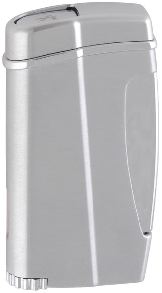 XIKAR Executive II Single Jet Cigar Lighter - Silver - 502SL