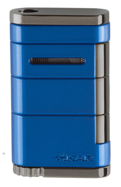 mycigarorder.com XIKAR Allume Single Jet Lighter - Reef Blue - 531BL