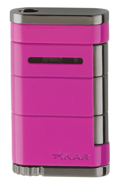 mycigarroder.com XIKAR Allume Single Jet Lighter - Neon Pink - 531PK