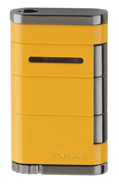 mycigarorder.com XIKAR Allume Single Jet Lighter -  Electric Yellow - 531YL
