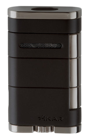 mycigarorder.com XIKAR Allume Double Torch Lighter - Black - 533BK