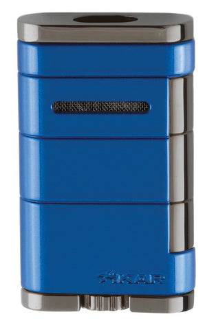 mycigarorder.com XIKAR Allume Double Torch Lighter - Blue - 533BL