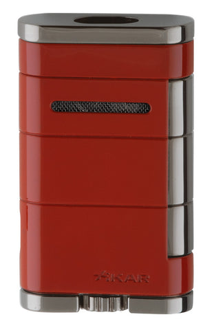 mycigarorder.com XIKAR Allume Double Torch Lighter - Red - 533RD
