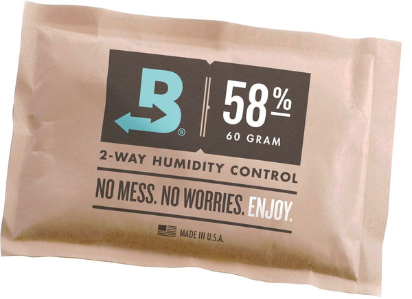 mycigarorder.com Boveda 58% RH 2-way Humidity Control, Large 60 - 67 gram, wrapped my cigar order