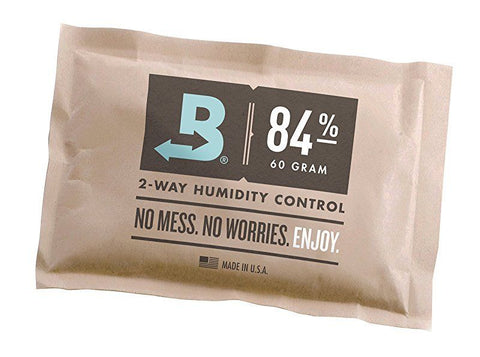 mycigarorder.com Boveda 84% RH Humidor Seasoning, Large 60 gram, individually wrapped (60g) my cigar order