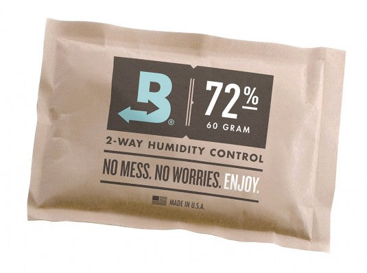 Boveda 72 Percent RH Individually Over Wrapped 2-Way Humidity Control Pack, 60g B72-60-OWB (FREE SHIPPING)