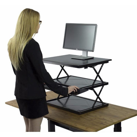 Uncaged Ergonomics CHANGEdesk Portable Standing Desk Conversion