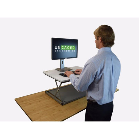 Uncaged Ergonomics CHANGEdesk Mini Standing Desk Conversion