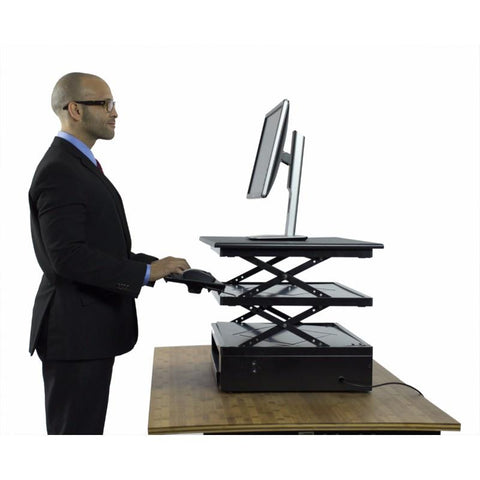 Uncaged Ergonomics Electric CHANGEdesk Standing Desk Conversion Tall