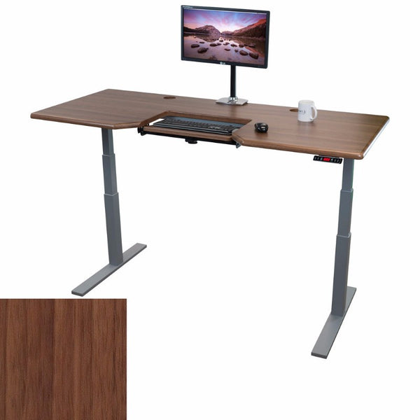 "iMovR Omega Olympus 71"" Standing Desk & Keyboard Tray"