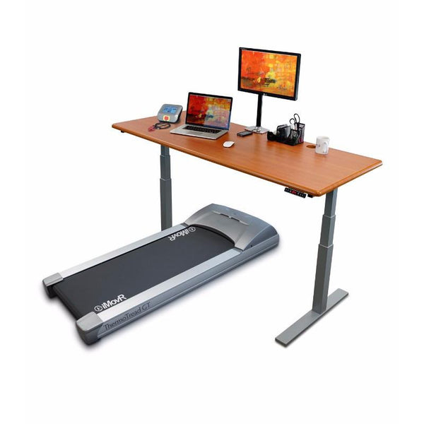 iMovR ThermoTread GT Desk Treadmill Base and  Uptown Standing Desk