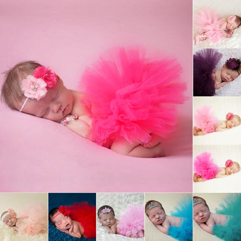 Baby Tutu Skirt Newborn Photography Props