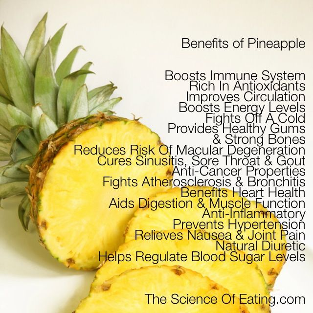 Pineapples.....did you know?