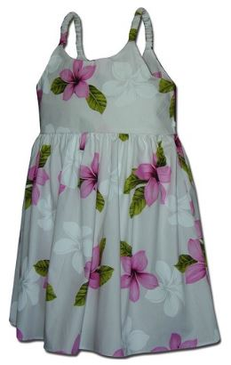 Girls Aloha Sundress for both Summer and Luau's