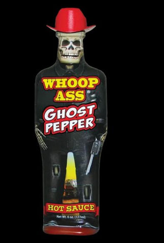 Ass Kickin Whoop Ass Ghost Pepper Hot Sauce