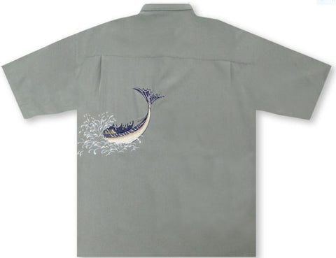 Bamboo Cay- Almighty Sailfish Short Sleeve Shirt