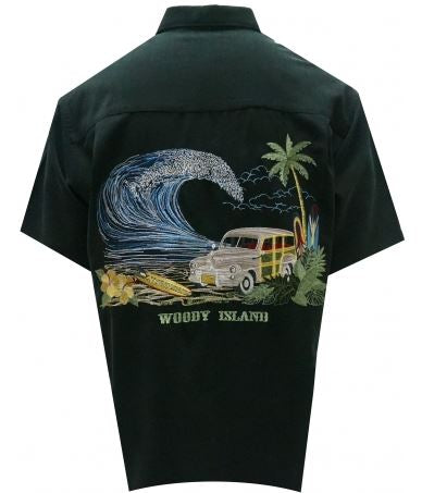 Bamboo Cay Woody Island Short Sleeve Shirt