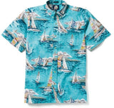 Reyn Spooner Mens Shirt - Follow the Sea