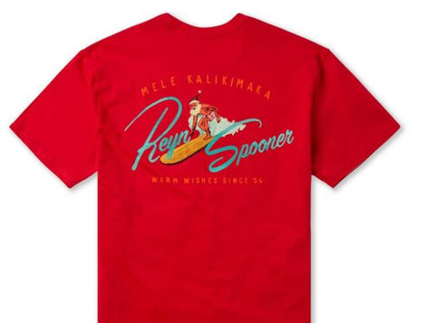 Reyn Spooner Short Sleeve Christmas T Shirt