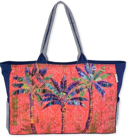Travel Tote Bag Canvas by Paul Brent Over sized Tote