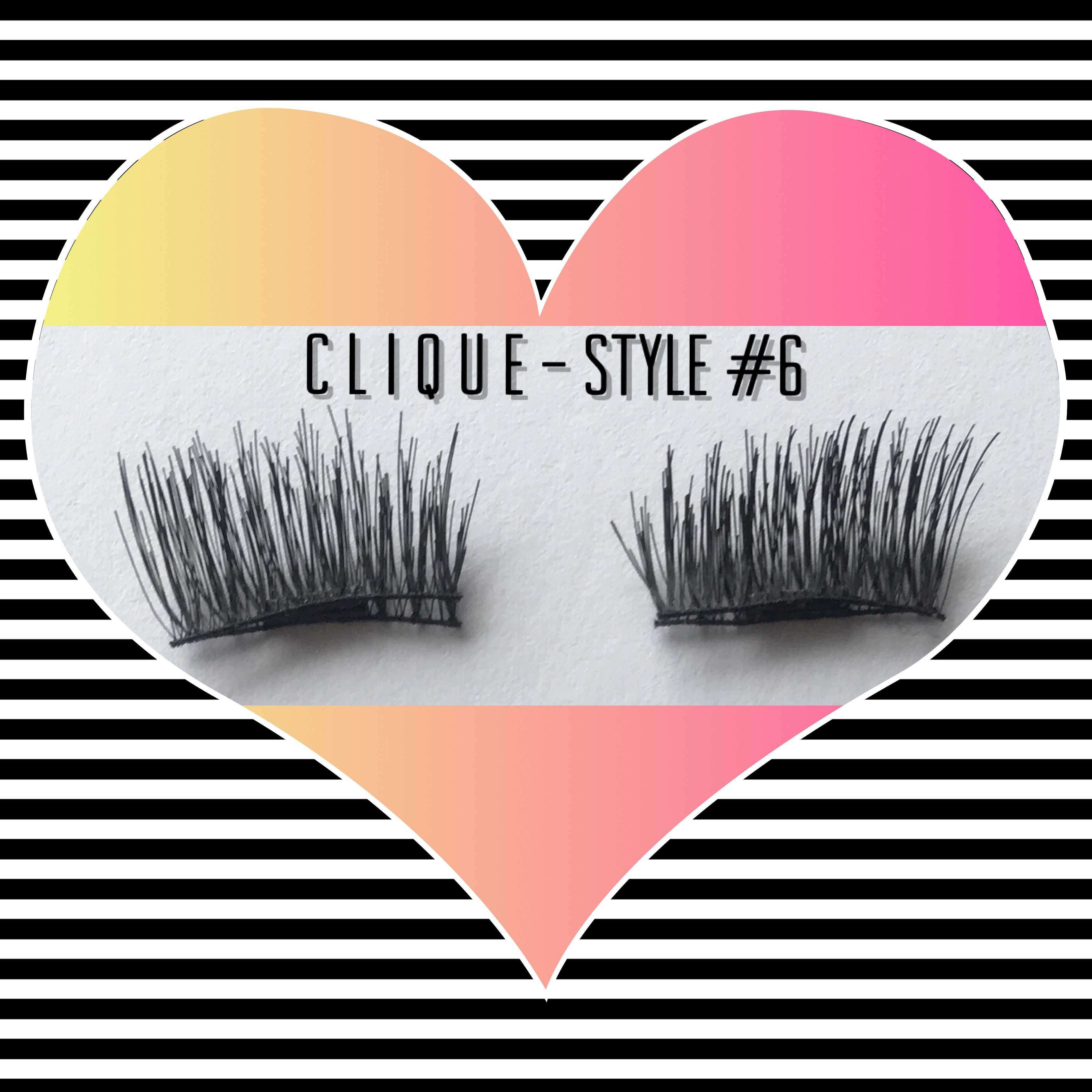"A: a: Clique ""Magnetic"" Lashes Style #6 (POPULAR - In Stock)"