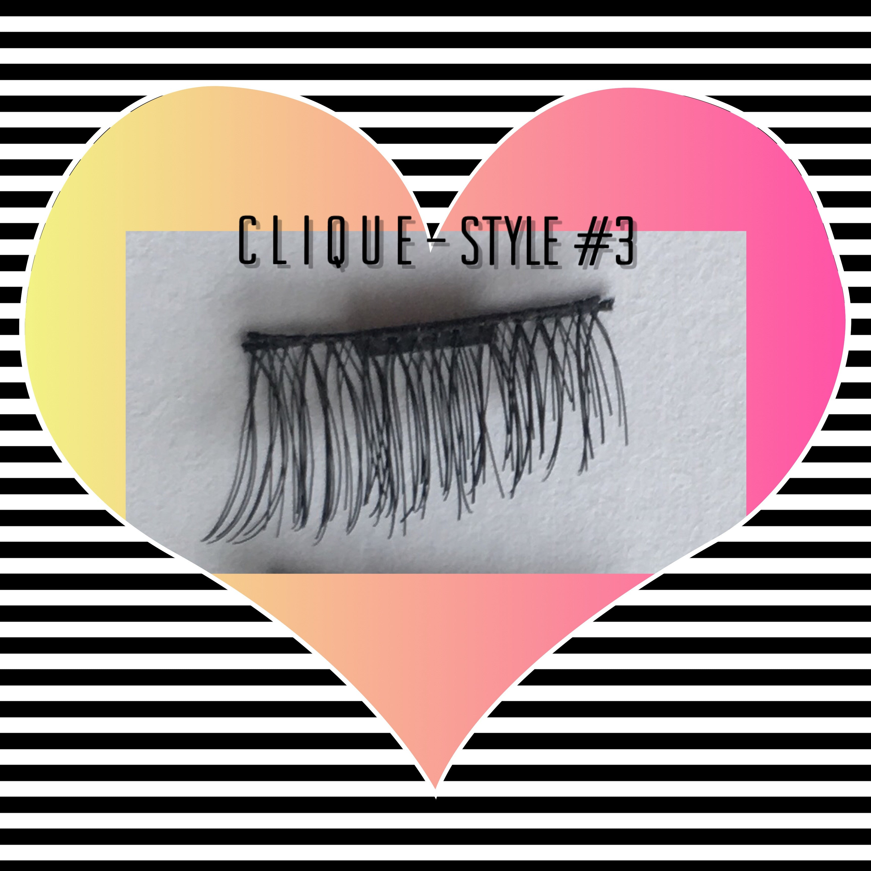 "A: a: Clique ""Magnetic"" Lashes Style #3 (MOST POPULAR - In Stock)"