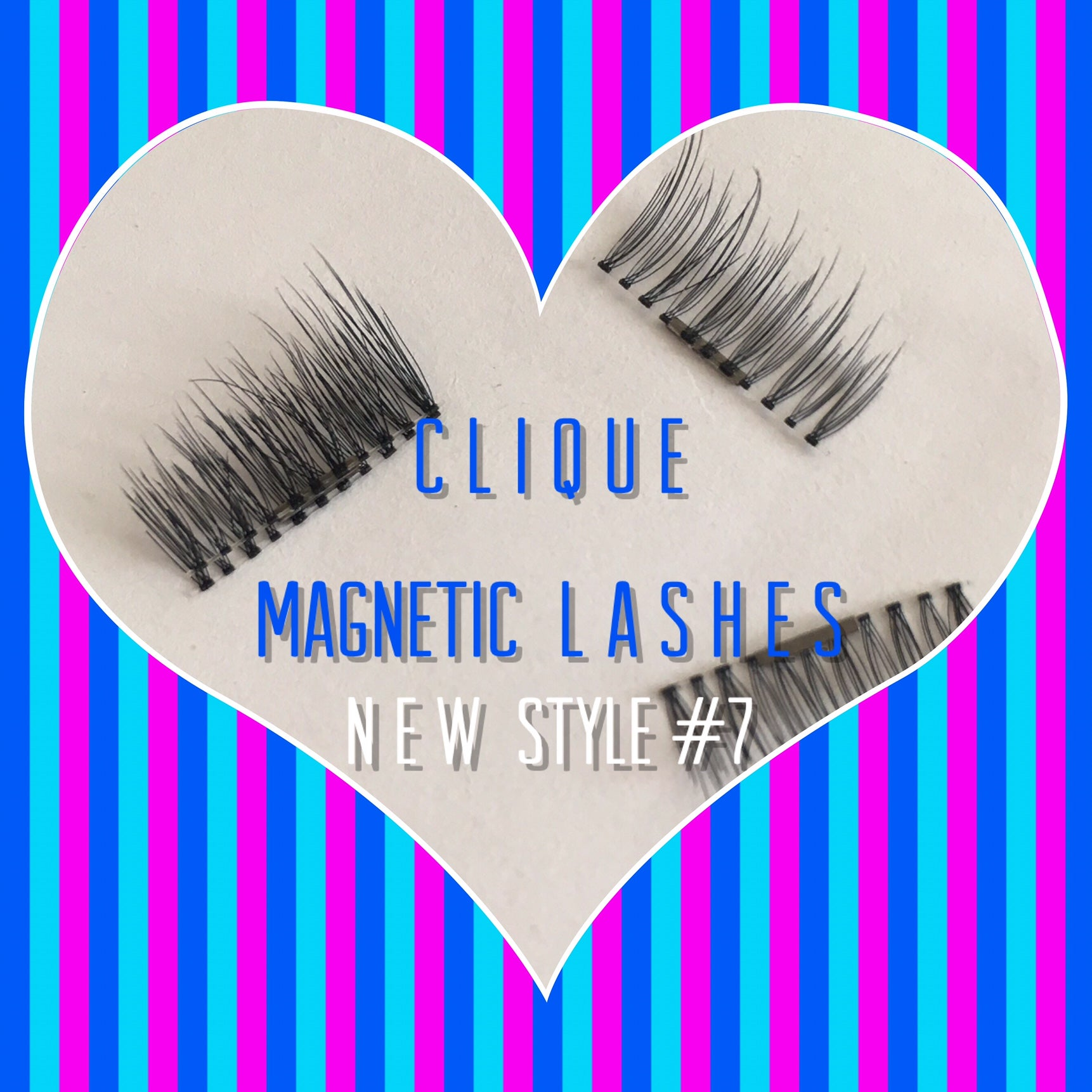 "A: a: Clique ""Magnetic"" Lashes NEW Style #7 (IN STOCK)"
