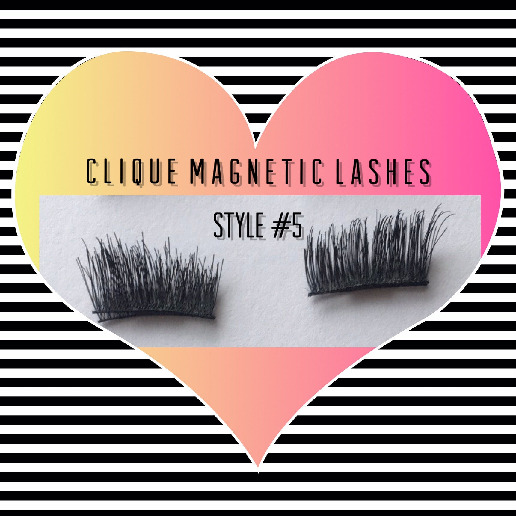 "A: a: Clique ""Magnetic"" Lashes Style #5 (IN STOCK)"