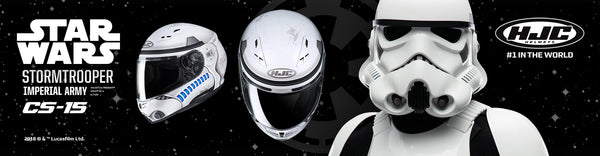 Star Wars HJC CS-15 Storm Trooper Helmet