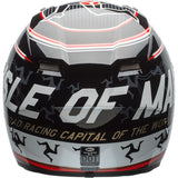 Bell Qualifier DLX Isle of Man Gloss Black-Red Helmet, Full Face Helmets, BELL, Moto Central