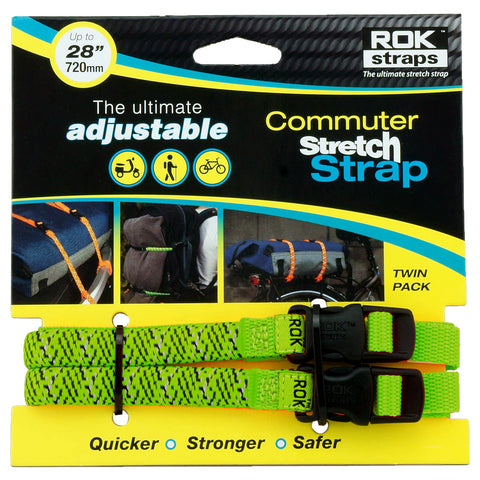 ROK Straps MD 12mm Green, Accessories, ROK Straps, Moto Central