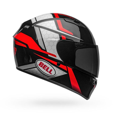 Bell Qualifier Flare Gloss Black-Red Helmet, Full Face Helmets, BELL, Moto Central