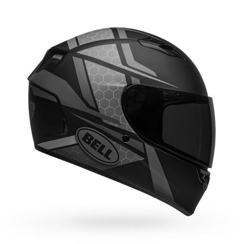 Bell Qualifier Flare Matt Black Grey Helmet, Full Face Helmets, BELL, Moto Central