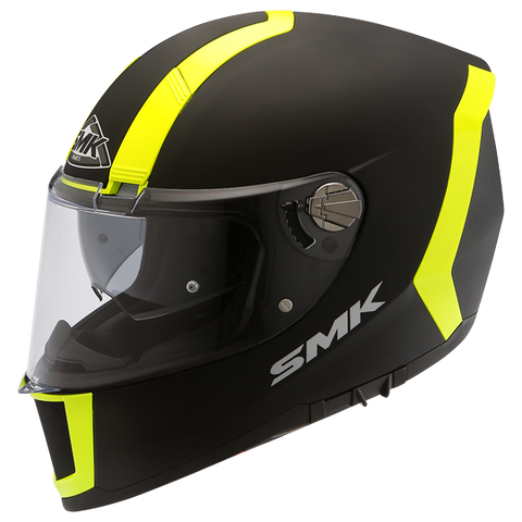 SMK Unicolor Force Matt Black-Fluorescent Yellow MA240