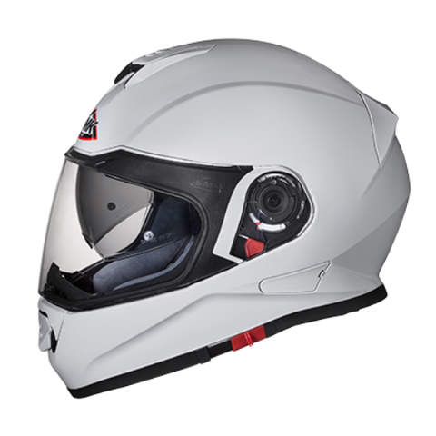 SMK Twister White (Gloss) GL100, Full Face Helmets, SMK, Moto Central