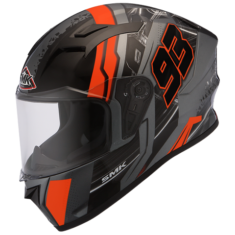 SMK Stellar 93 Swank Matt Anthracite Orange MADA672