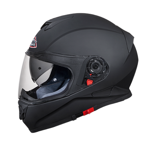 SMK Twister Matt Black (MA200), Full Face Helmets, SMK, Moto Central