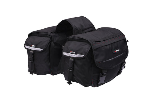 ViaTerra Leh 100% Waterproof Motorcycle Saddle Bags, Riding Luggage, ViaTerra Gear, Moto Central