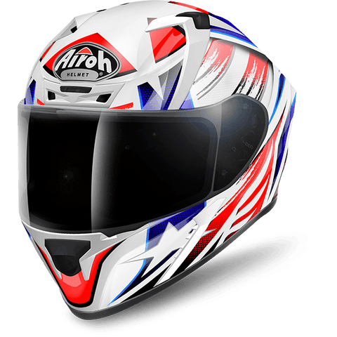 Airoh Valor Command Gloss Helmet, Full Face Helmets, Airoh, Moto Central