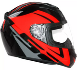 LS2 FF 352 Tour Matt Black Grey Red Helmet, Full Face Helmets, LS2 Helmets, Moto Central