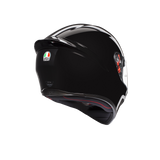 AGV K1 Solid Black Helmet, Full Face Helmets, AGV, Moto Central