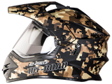 Steelbird Motocross Bang Pixels Helmet, Full Face Helmets, Steelbird, Moto Central