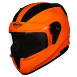 Steelbird Air SA-1 Gloss Fluorescent Orange Helmet, Full Face Helmets, Steelbird Air, Moto Central