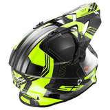 LS2 MX 436 Pioneer Trigger Matt Black Yellow Helmet, Full Face Helmets, LS2 Helmets, Moto Central