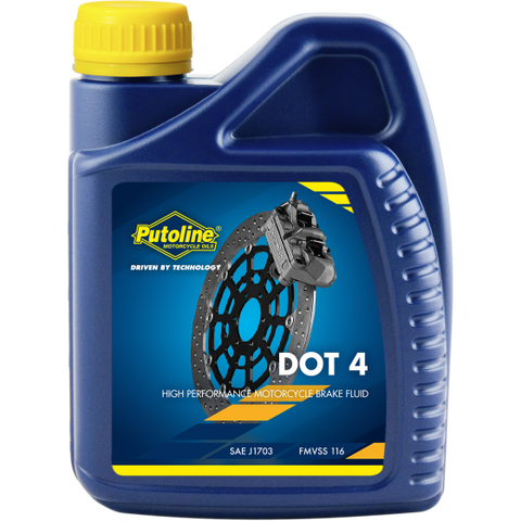 Putoline DOT 4 BRAKE FLUID 500ml, Bike Care, Putoline, Moto Central