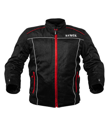 Rynox AIR GT v2.0 Black-Red, Riding Jackets, Rynox Gears, Moto Central