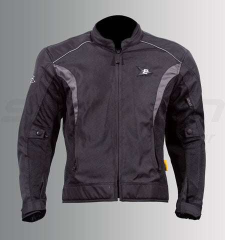 Aspida Atlas Jacket (Black-Grey), Riding Jackets, Aspida, Moto Central