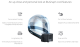 BluSnap Cooler for Helmet with Strap, Accessories, BluArmor, Moto Central